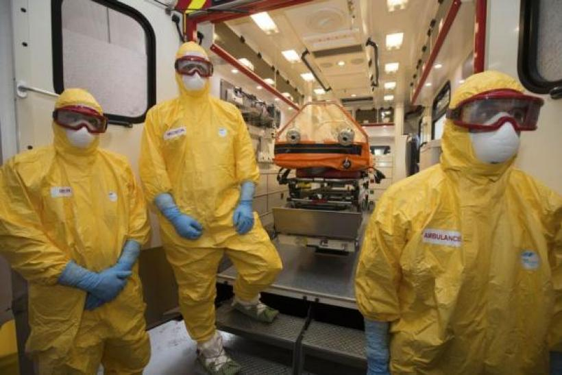 Ebola emergency medical services in France