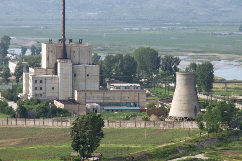 North Korean nuclear plant in Yongbyon