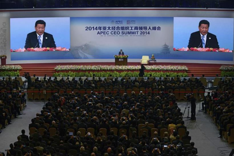 China's President Xi Jinping, Nov. 9, 2014