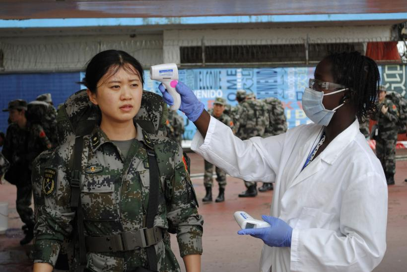chinese ebola workers
