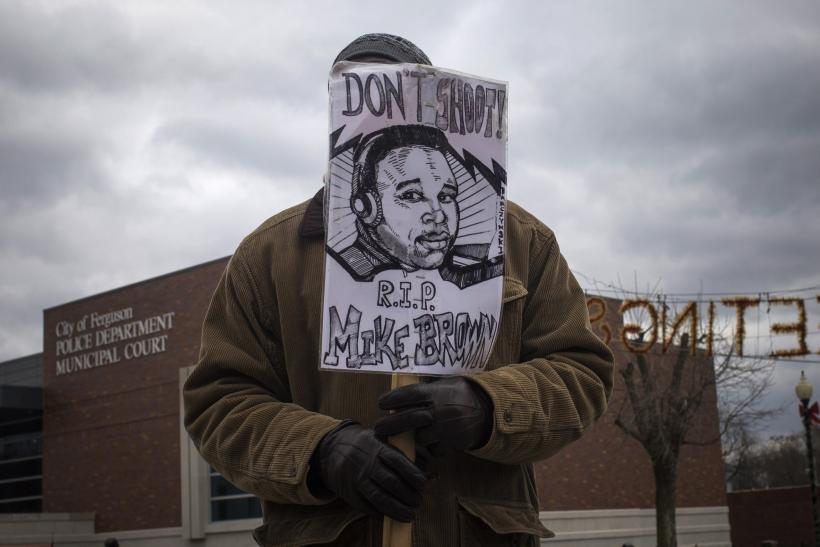 Mike Brown protest