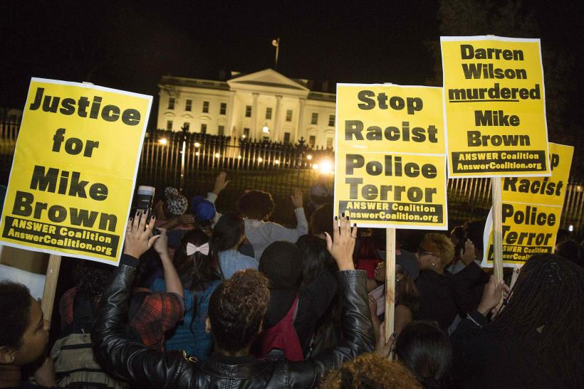 White House protests_Michael Brown