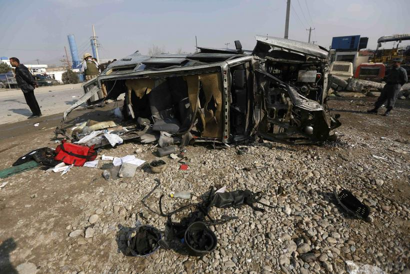 Afghanistan attack in Kabul