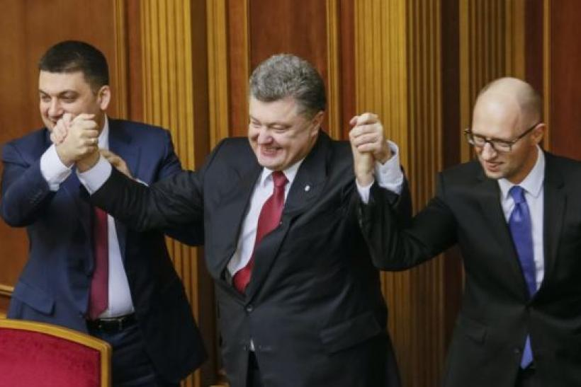 New Ukraine Leadership Hopes To Regain Control Of East Ukraine