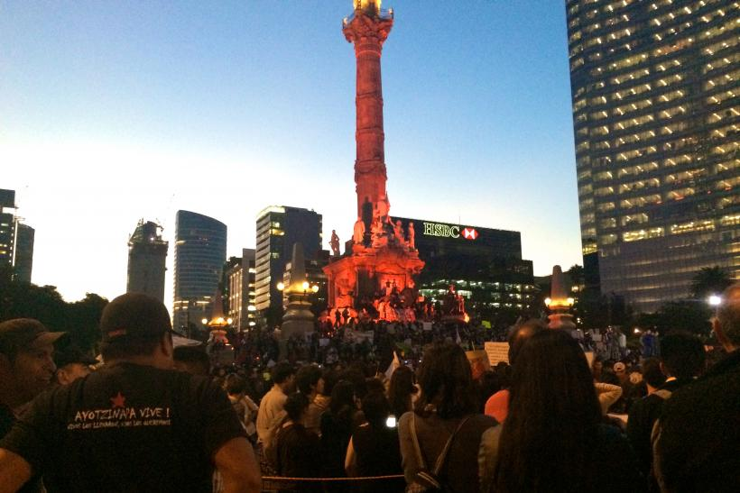 The events surrounding the violent student uprising in mexico during the olympics