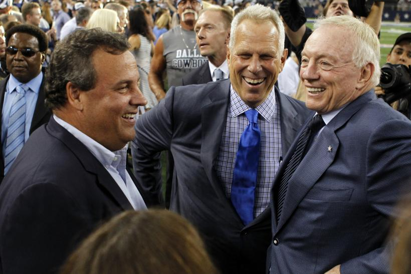 Chris Christie Jerry Jones