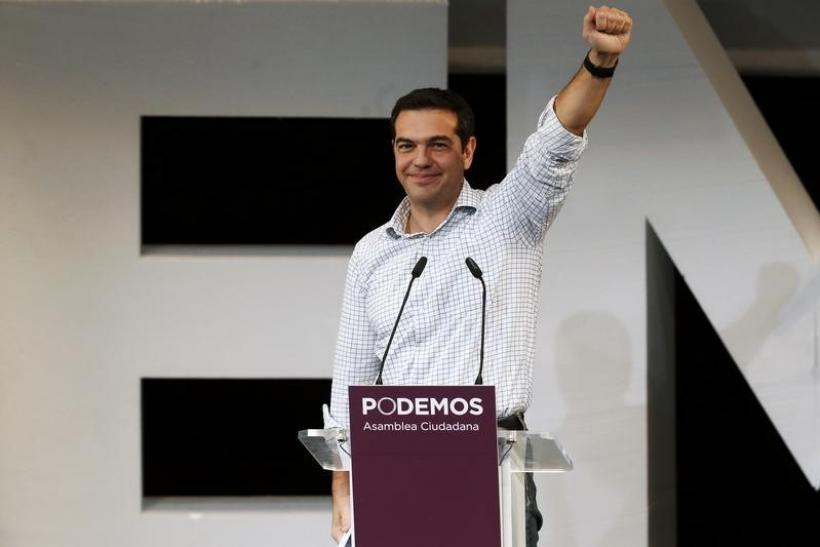 Alexis Tsipras, leader of Greece's Syriza party