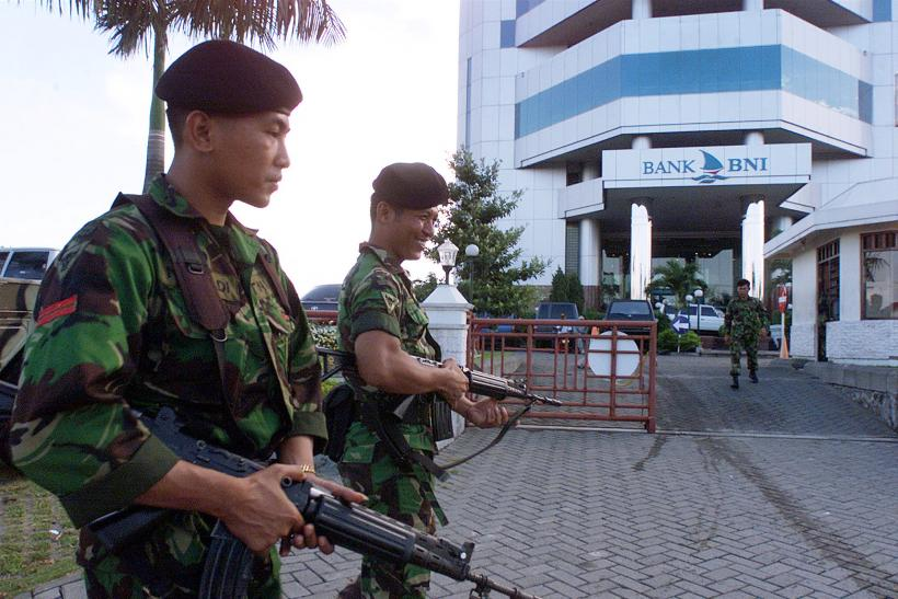 Indonesia soldiers
