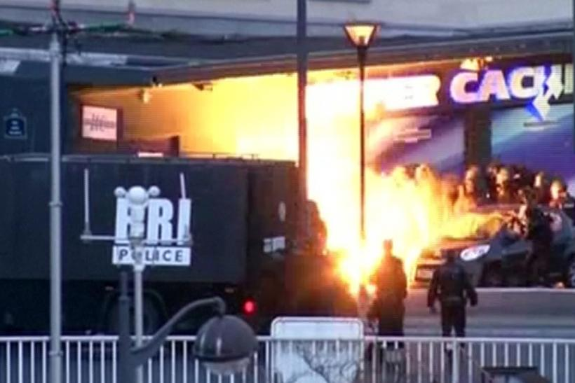 Paris attacks update watch video of police raid on for Lg store paris