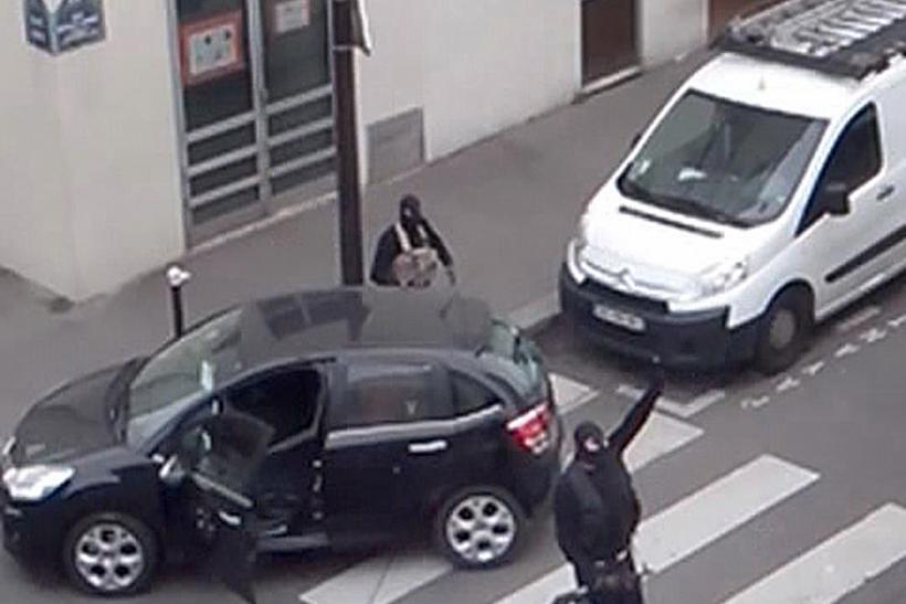 Charlie Hebdo Gunmen Video