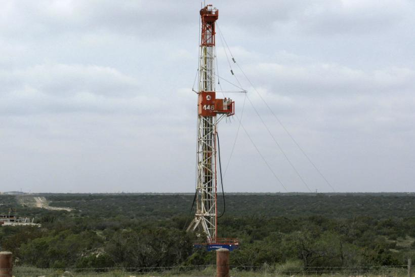 Apache Corp Oil Rig