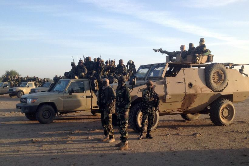 Chadian forces
