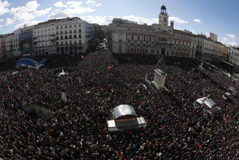 Podemos rally in Madrid