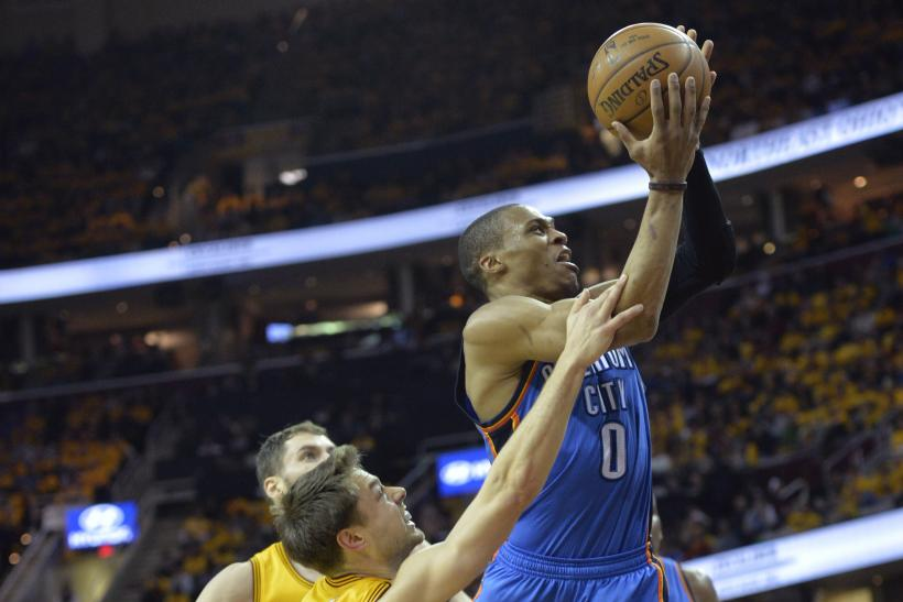 Russell Westbrook Thunder 2015