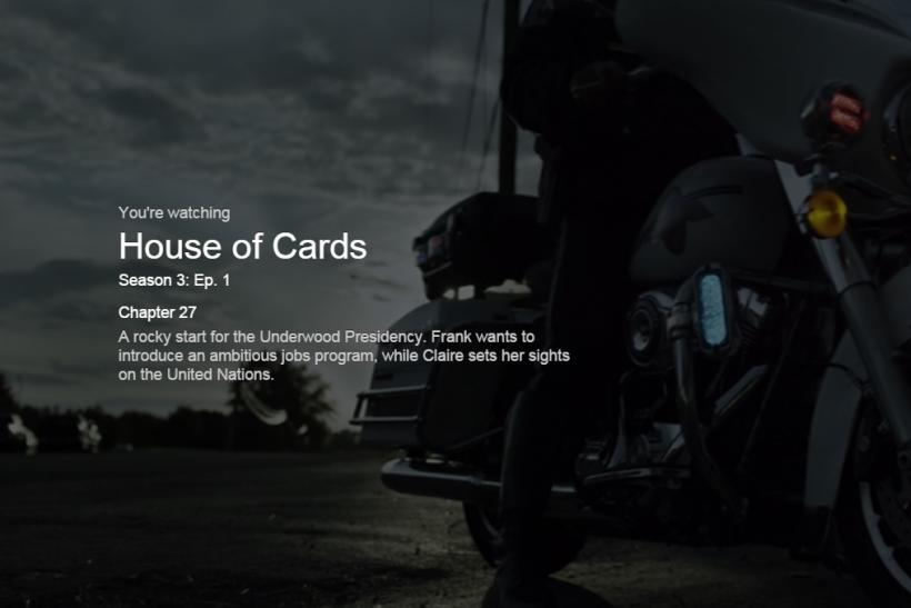 House of CardsS3