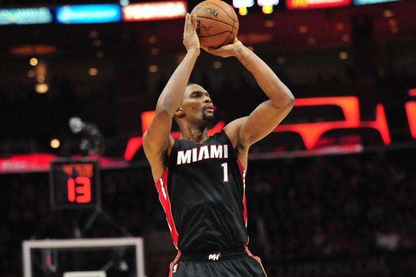Chris Bosh Miami Heat 2015