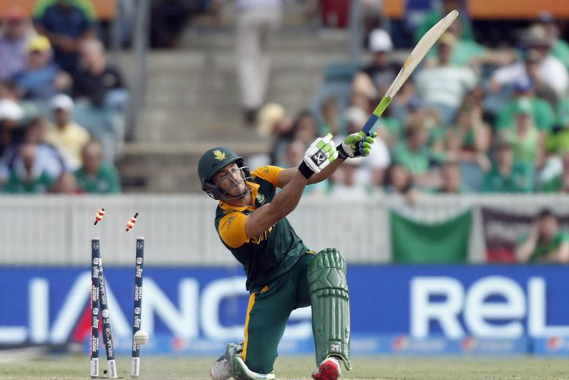 Faf du Plessis South Africa Cricket World Cup 2015