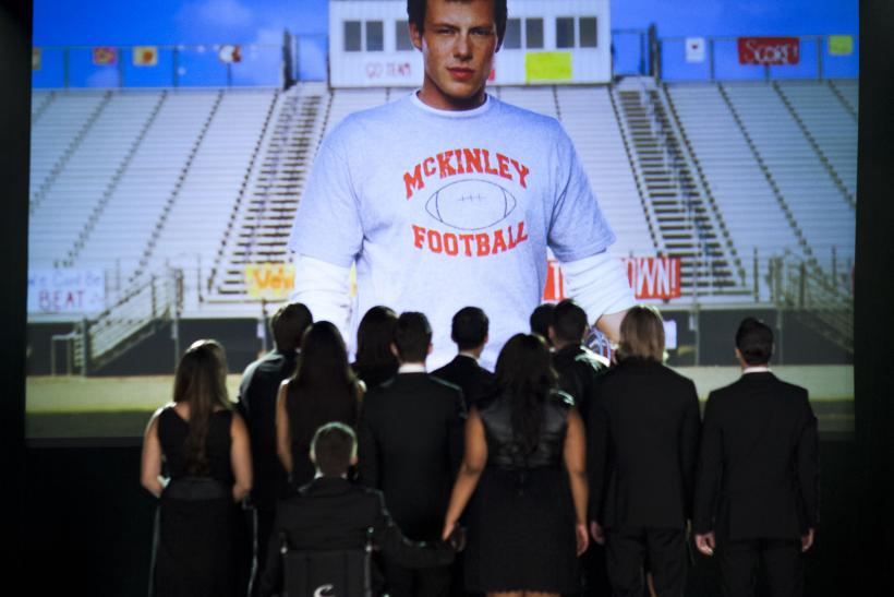 Cory Monteith Glee Finale