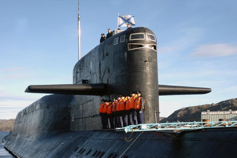 Russia nuclear-powered submarine