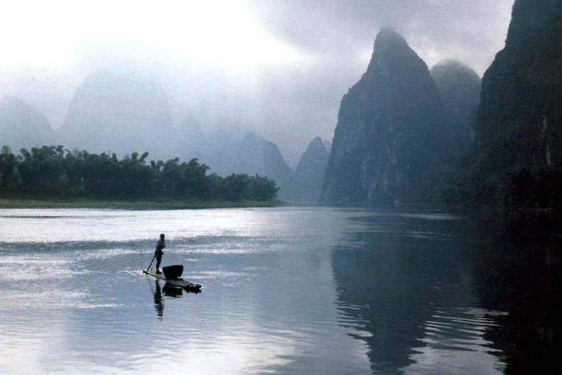 Mountains in Guilin province, China