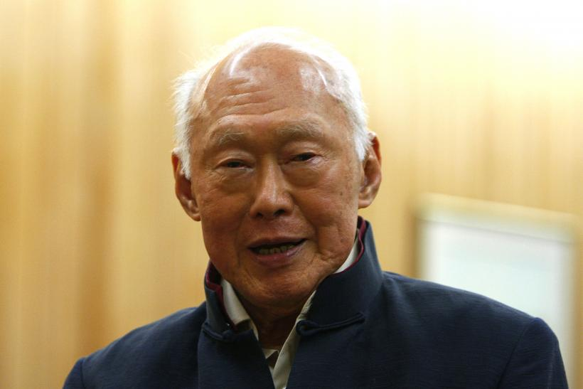 Singapore's co-founder Lee Kuan Yew