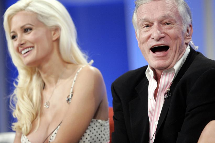 Holly Madison and Hugh Hefner