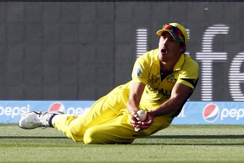 Mitchell Starc Australia Cricket World Cup 2015