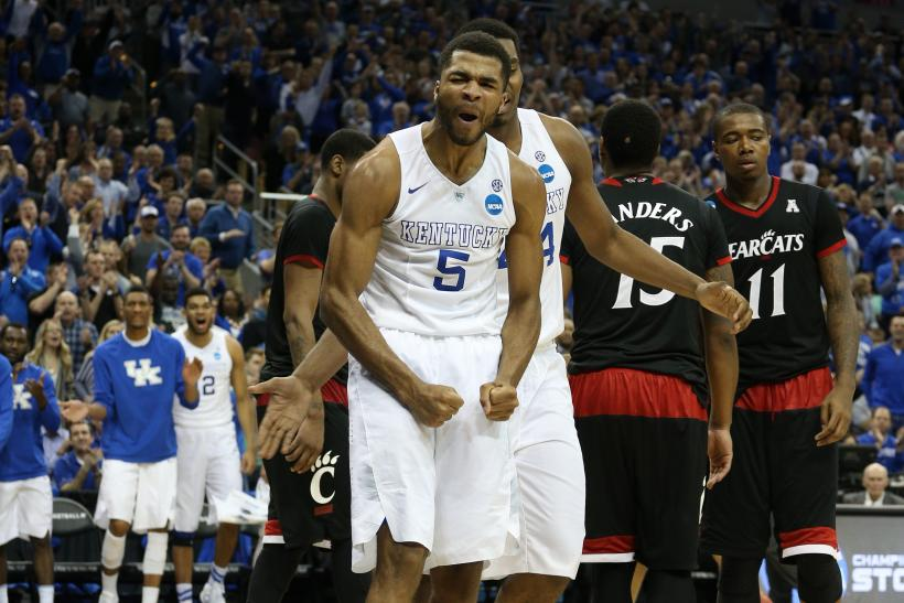 Kentucky Basketball Andrew Harrison