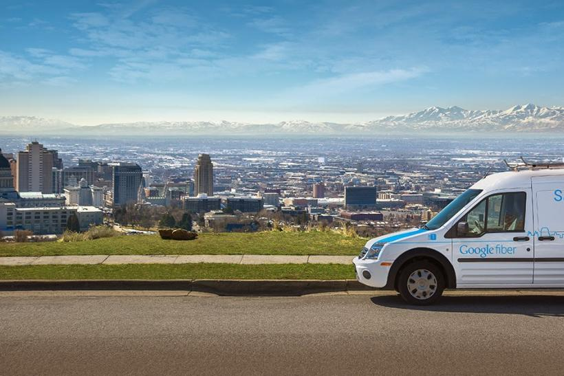 google fiber van salt lake city utah