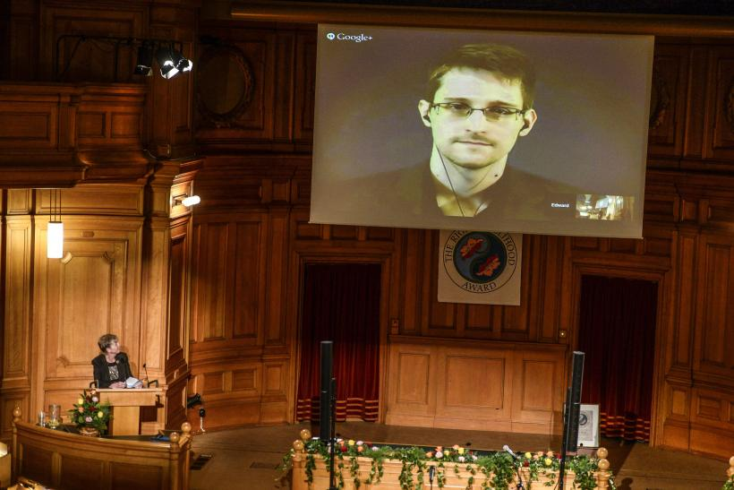 Edward Snowden conference