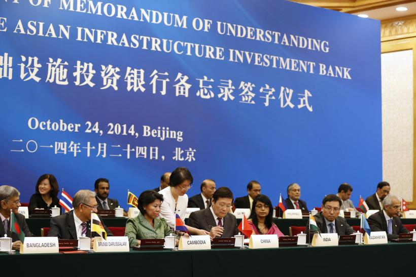 China-led Asian Infrastructure Investment Bank