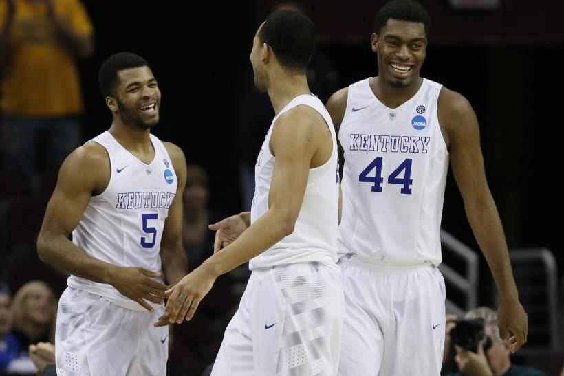 Andrew Harrison Dakari Johnson Kentucky 2015