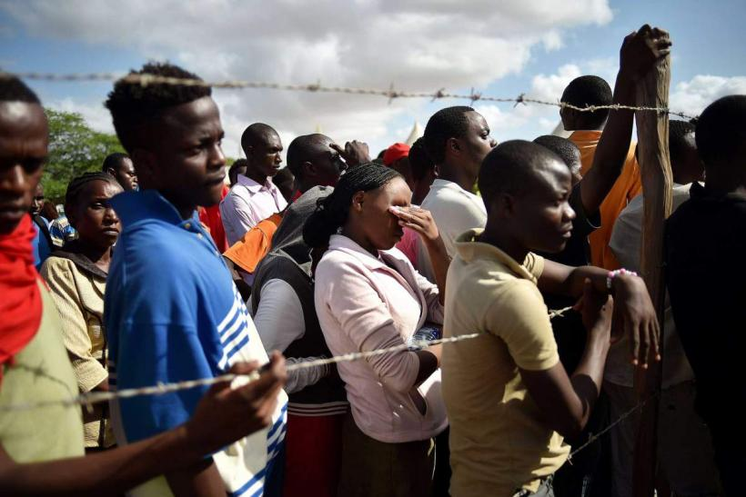 Garissa University College students in Kenya