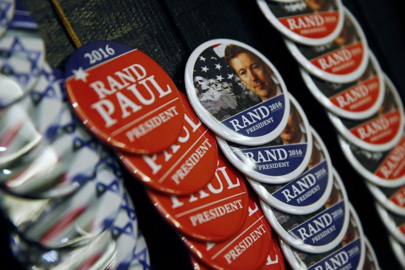 Rand Paul campaign buttons
