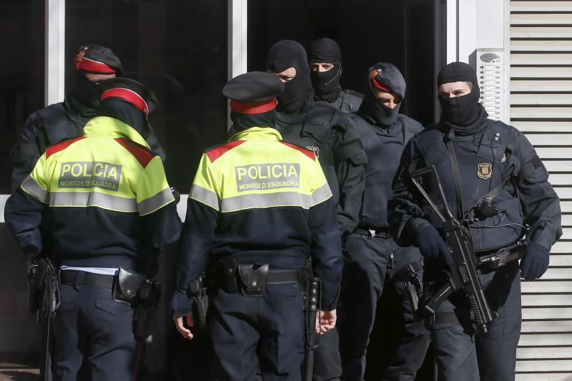Catalan police forces, Spain