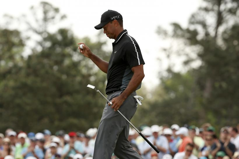 Tiger Woods Masters 2015