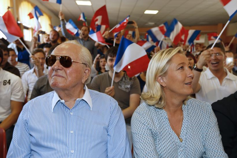 Le Pen family feud French politics Front National