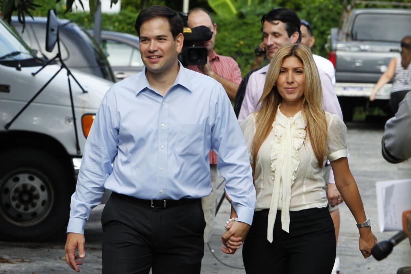 Marco and Jeanette Rubio