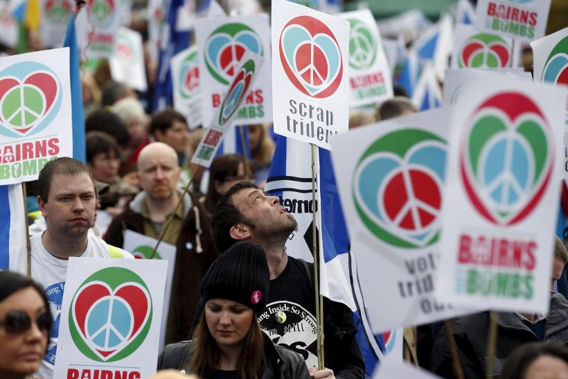 trident protesters