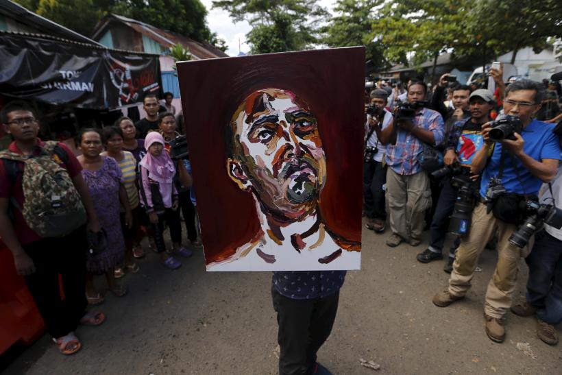 bali nine self portrait
