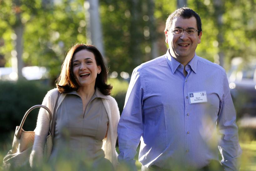 David Goldberg, Sheryl Sandberg