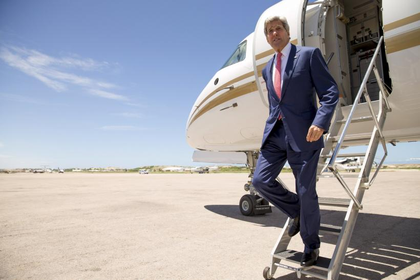 John Kerry in Mogadishu