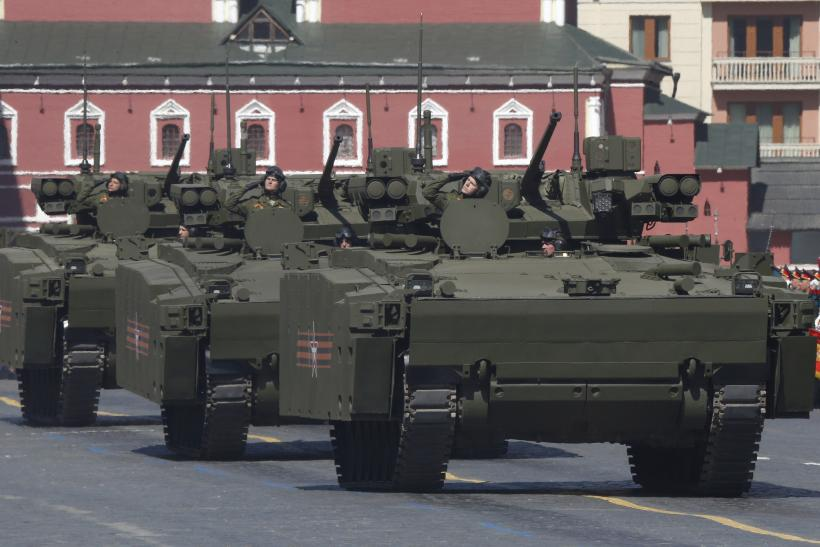 new car launches may 2015Russian Military Combat Vehicle Kurganets25 With PlayStation