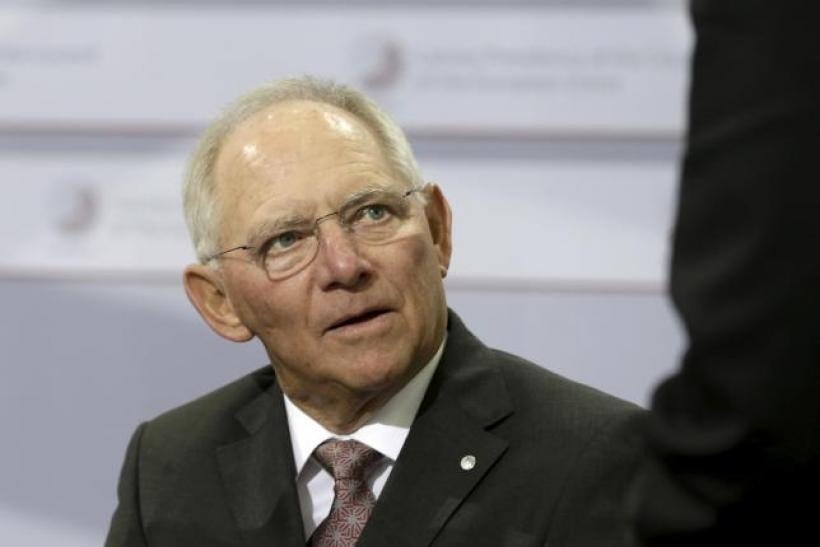 german finance minister