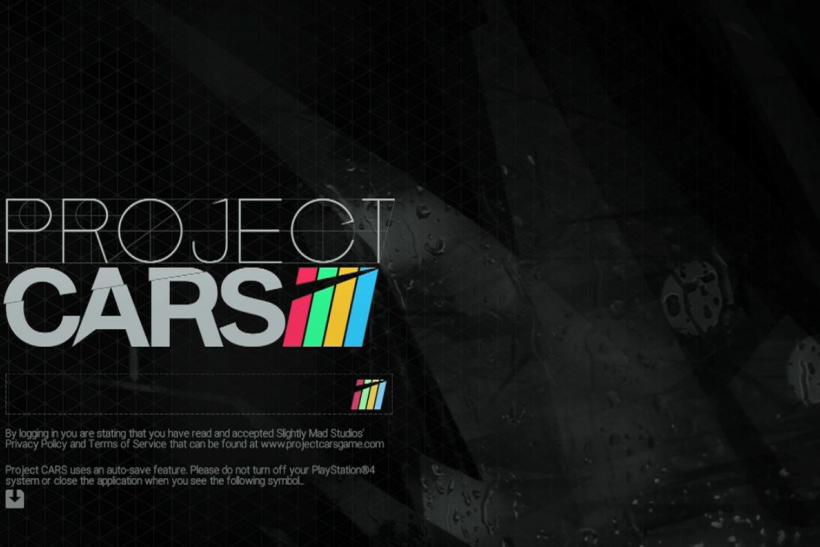 Project Cars Title