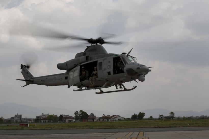 US Marine helicopter