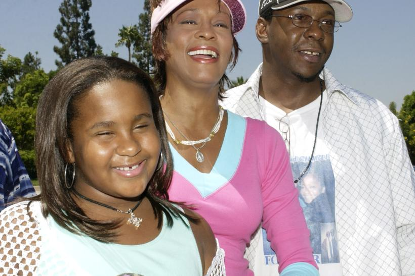 Bobbi Kristina and her parents