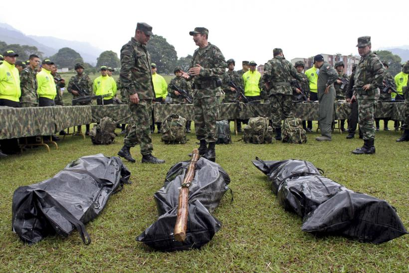 Colombian government forces