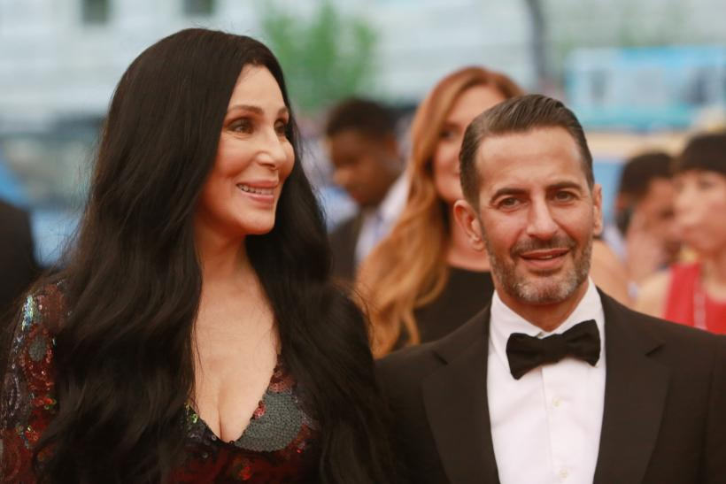 [8:22] U.S. singer Cher arrives with American designer Marc Jacobs for the Metropolitan Museum of Art Costume Institute Gala 2015