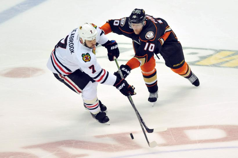 Brent Seabrook Corey Perry 2015